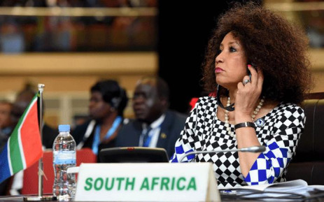International Relations and Cooperations Minister Lindiwe Sisulu. Picture: GCIS
