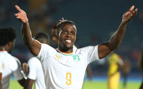 The Ivory Coast's Wilfried Zaha celebrates his goal against Mali in their last 16 Africa Cup of Nations match on 8 July 2019. Picture: @CAF_Online/Twitter