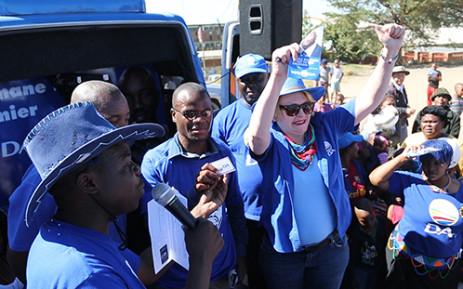 FILE: Democratic Alliance leader Helen Zille. Picture: EWN