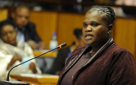FILE: Department of Communications Minister Faith Muthambi. Picture: GCIS.