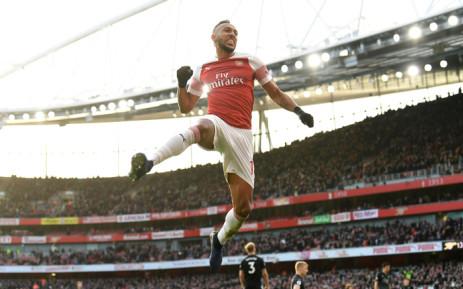 Arsenal sharpshooter Pierre-Emerick Aubameyang. Picture: @Arsenal/Twitter.