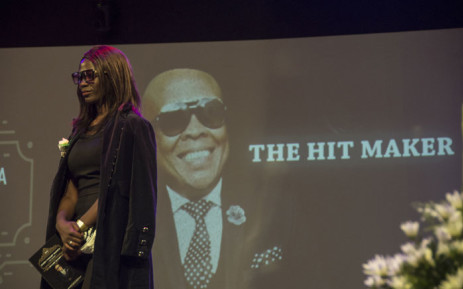Family and friends paid tribute to the late Robbie Malinga at a memorial service at the Grace Bible Church in Soweto. Picture: Ihsaan Haffejee/EWN