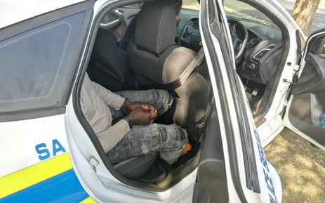 A police tipoff led to the arrest of two suspects following a foiled cash in transit heist on Wednesday,  23 September 2020. Five other suspects were killed in a shootout with the police at a house in Dawn Park in Boksburg. Picture: Twitter/@SAPoliceService