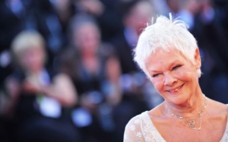 Dame Judi Dench. Picture: AFP.