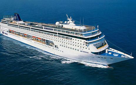 The Sinfonia cruise ship. Picture: Msccruises.co.za