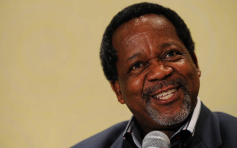 African Christian Democratic Party leader Kenneth Meshoe holds a news conference in Johannesburg, Thursday, 20 January 2011. Picture: SAPA.