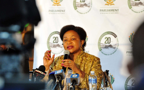 FILE: Speaker of the National Assembly Baleka Mbete. Picture: GCIS.