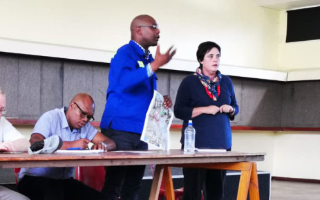 City of Cape Town's Human Settlements Mayco member Malusi Booi at a meeting. Picture: @CityofCT/Twitter