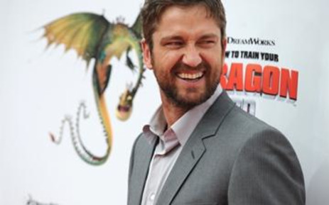 Cast member Gerard Butler arrives for the premiere of DreamWorks' How To Train Your Dragon at the Gibson Amphitheater on March 21, 2010. Picture: AFP.