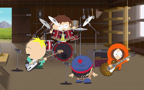 Characters from 'South Park' in the episode titled 'Band in China'. Picture: @SouthPark/Twitter