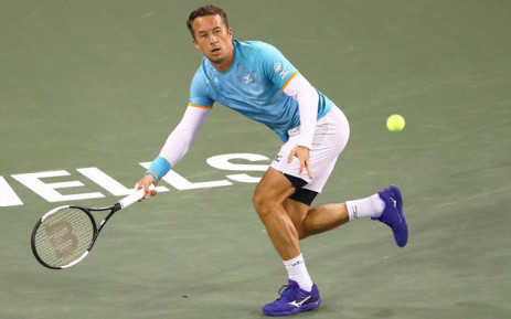 Philipp Kohlschreiber in action at Indian Wells on 12 March 2019. Picture: @ATP_Tour/Twitter