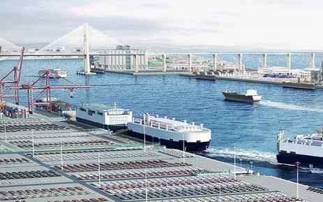 A view of the Pyeongtaek-Dangjin port. Picture: pyeongtaek.mof.go.kr