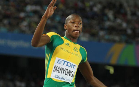FILE: Luvo Manyonga claimed silver at the Rio Olympic Games in Brazil. Picture: Twitter @SPORTandREC_RSA.