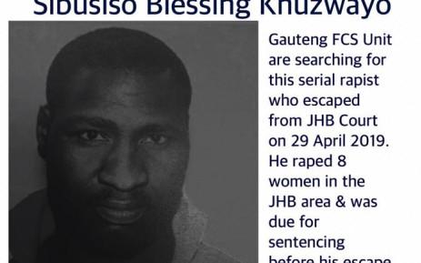Accused rapist Sibusisio Khuzwayo. Picture: @GautengBoard/Twitter