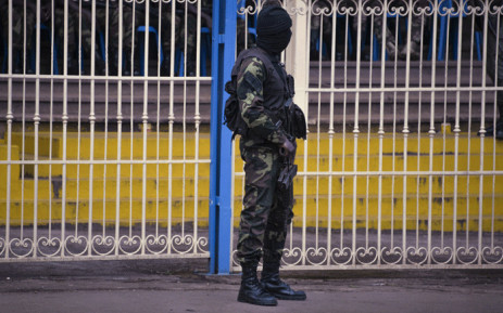 FILE: Cameroonian soldier. Picture: AFP.