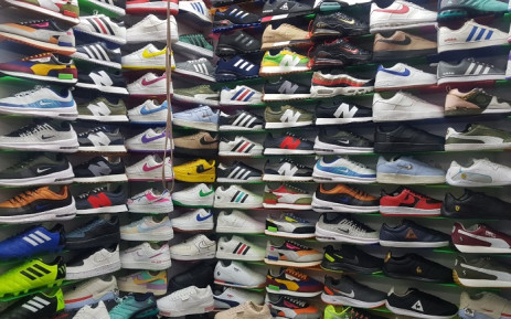 A joint operation raided buildings commonly known to sell counterfeit brands in the Joburg city centre following a court order. Picture: SAPS.