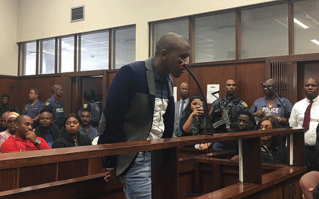 FILE: Murder accused Thabani Mzolo seen in court on 17 May 2018. Picture: Ziyanda Ngcobo/EWN