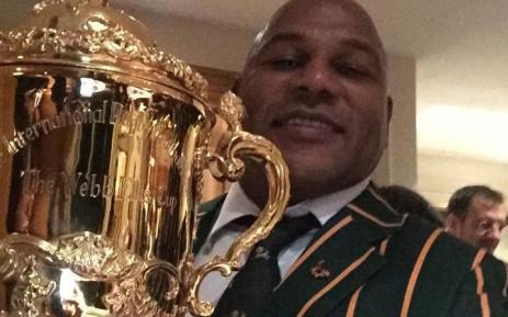 Former Springboks icon, Chester Williams. Picture: Chester Williams Facebook page.
