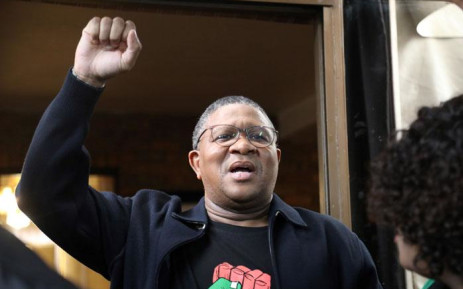The ANC's Fikile Mbalula at the Soweto home of the late Winnie Madikizela-Mandela on 5 April 2018. Picture: Christa Eybers/EWN