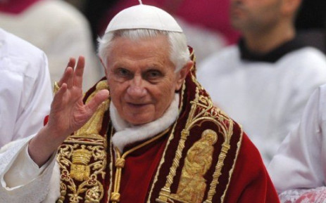 Former Pope Benedict XVI. Picture: AFP.