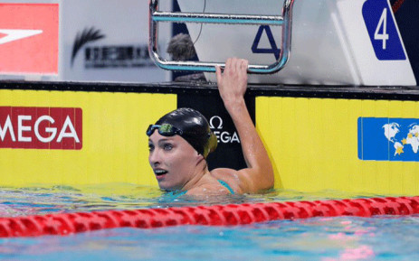 South Africa's Tatjana Schoenmaker at the FINA Swimming World Cup on 2 August 2019. Picture: @fina1908/Twitter.