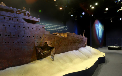 The exhibition opens today at the V & A Waterfront and will run until March 2016. Picture: titanicexpo.co.za.