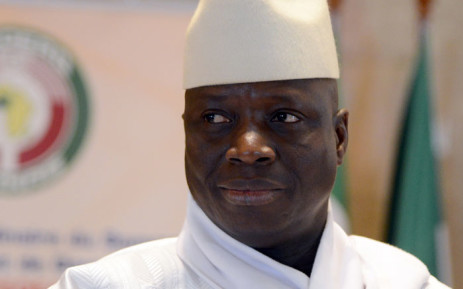 Former Gambian President Yahya Jammeh. Picture: AFP
