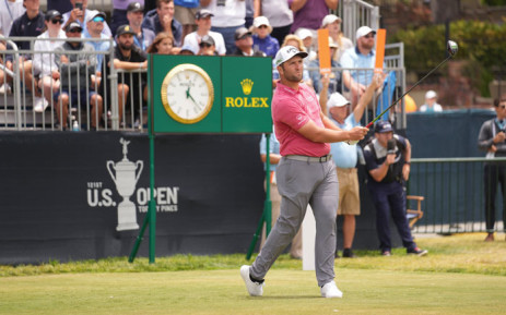 John Rahm in action during the US Open on 20 June 2021. Picture: @usopengolf/Twitter