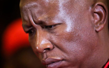 EFF leader Julius Malema at the High Court in Pretoria on 4 July 2019. Picture: Kayleen Morgan/EWN