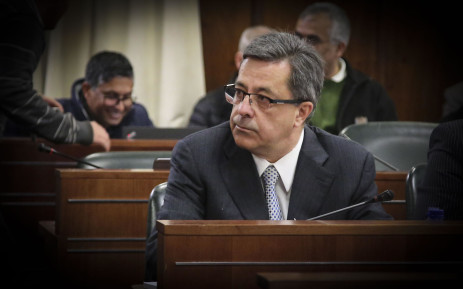 Former Steinhoff chief executive officer Markus Jooste in Parliament on 5 September 2018. Picture: Cindy Archillies/EWN
