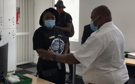 Western Cape Health MEC Nomafrench Mbombo visited Caledon and Swellendam hospitals on 12 April 2021 to assess their readiness ahead of the roll out of phase 2 of COVID vaccines. Picture: Kevin Brandt/Eyewitness News.