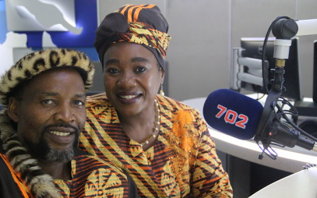 Bheki and Linah Ngcobo. Picture: 702.