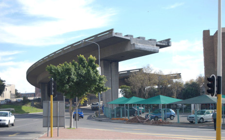 This undated file photo shows the uncompleted Foreshore Freeway Bridge in Cape Town. Picture: Wikimedia Commons.