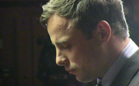 Oscar Pistorius during his murder case in the Pretoria Magistrate's Court on 19 August 2013. Picture: Christa Eybers/EWN