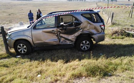 The scene of a crash in Klipheuwel. Picture: ER24.