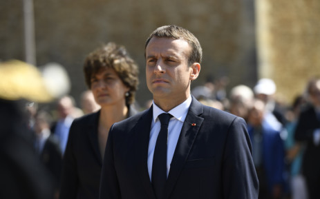 FILE: French President Emmanuel Macron. Picture; AFP