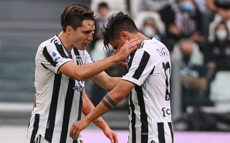 Juventus star forward Paulo Dybala was injured after the teams second match of the Serie A season. Picture: @Squawka/Twitter.