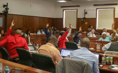 The constitutional review committee on 15 November 2018 adopted its final report that recommends the amendment of Section 25 of the Constitution to allow for expropriation of land without compensation. Picture: @ParliamentofRSA/Twitter