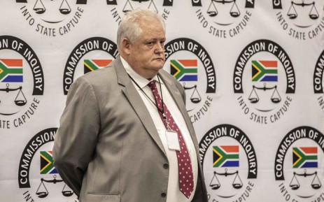 Former Bosasa executive Angelo Agrizzi on the third day of his testimony at the commission of inquiry into state capture. Picture: Abigail Javier/EWN