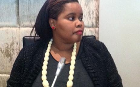 Lindiwe Mazibuko, the newly elected DA leader in Parliament. Picture: Catherine Rice/EWN
