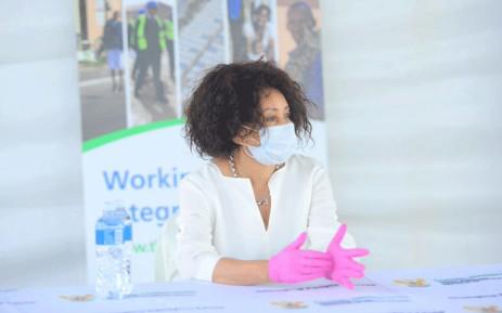 FILE: Minister of Human Settlements, Water & Sanitation Lindiwe Sisulu. Picture: GCIS.