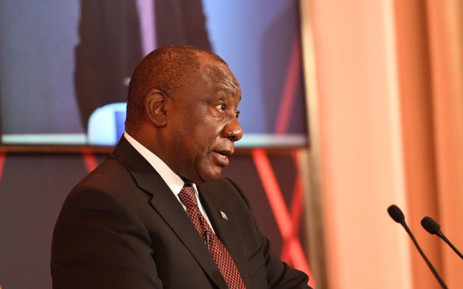 President Cyril Ramaphosa seen at the Financial Times Africa Summit on 14 October 2019. Picture: @PresidencyZA/Twitter