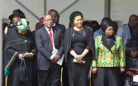 Minister in the Presidency Nkosazana Dlamini-Zuma delivered the eulogy at ANC stalwart  Eric Mtshali's special official funeral held in Durban on Sunday 21 October 2018. Picture: @MYANC/Twitter