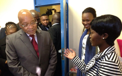 FILE. Tshwane University of Technology students have listed funding difficulties and poor living conditions at their residences as issues president Jacob Zuma and his government to help address. Picture: Vumani Mkhize/EWN.