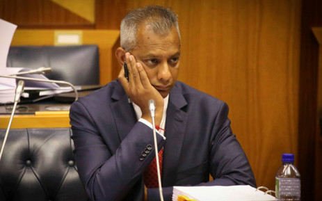FILE: Anoj Singh addressing Parliamentarians during an inquiry into state capture on 23 January 2018. Picture: Cindy Archillies/EWN.