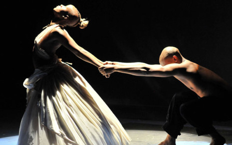 FILE: Dance SBYA winner Fana Tshabalala performs in CARGO. Picture: National Arts Festival Grahamstown Facebook page.