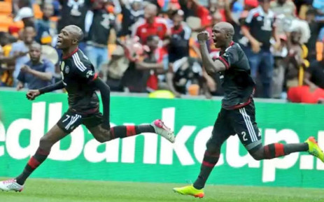 FILE: Orlando Pirates players celebrate a goal. Picture: Facebook