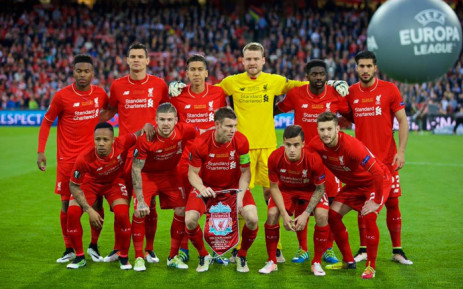 FILE: Liverpool FC players taking a team photo ahead of their Europa Final clash against Sevilla on 18 May 2016. Picture: Facebook.