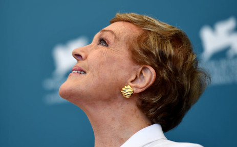 FILE: British actress Julie Andrews poses during a photocall on 3 September 2019 at the 76th Venice Film Festival at Venice Lido. Picture: AFP