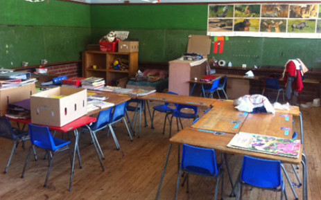 An empty classroom. Picture: EWN
